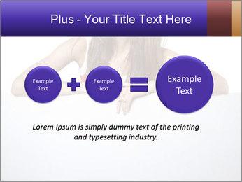 Happy woman PowerPoint Template - Slide 75