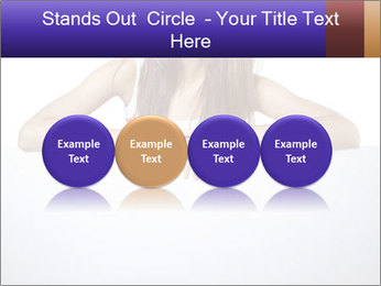Happy woman PowerPoint Template - Slide 76