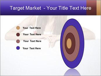 Happy woman PowerPoint Template - Slide 84