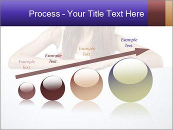 Happy woman PowerPoint Template - Slide 87