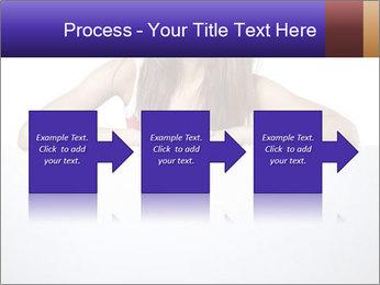 Happy woman PowerPoint Template - Slide 88