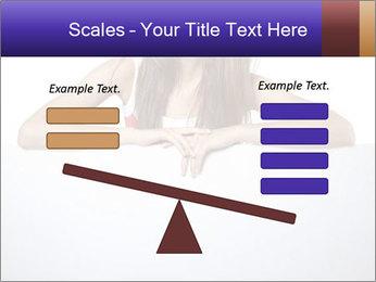 Happy woman PowerPoint Template - Slide 89