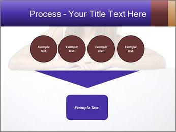 Happy woman PowerPoint Template - Slide 93