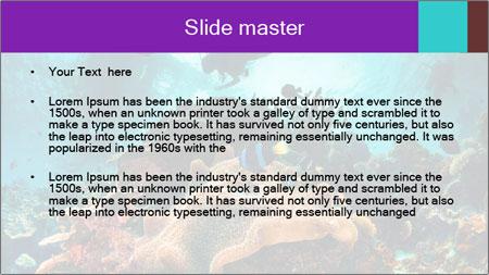Sea scape PowerPoint Template - Slide 2