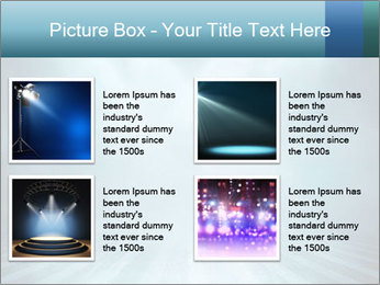 Background in show PowerPoint Template - Slide 14