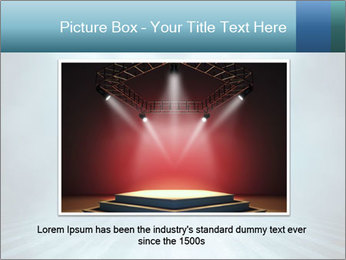 Background in show PowerPoint Template - Slide 15