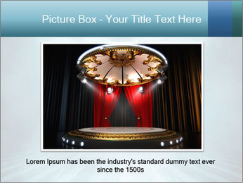 Background in show PowerPoint Template - Slide 16