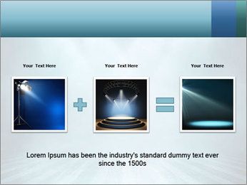 Background in show PowerPoint Template - Slide 22