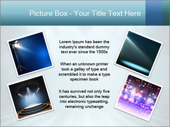 Background in show PowerPoint Template - Slide 24