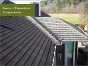 Designer shingles PowerPoint Templates