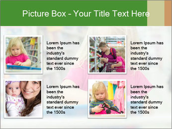 Adorable girl PowerPoint Template - Slide 14