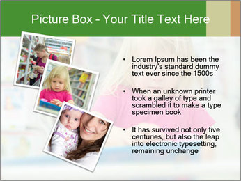 Adorable girl PowerPoint Template - Slide 17