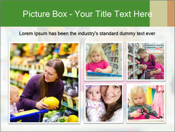 Adorable girl PowerPoint Template - Slide 19