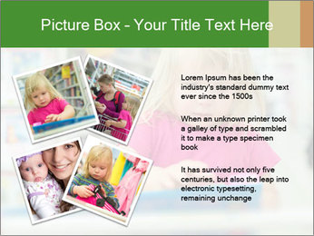 Adorable girl PowerPoint Template - Slide 23