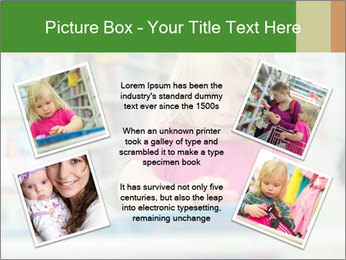 Adorable girl PowerPoint Template - Slide 24