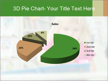 Adorable girl PowerPoint Template - Slide 35