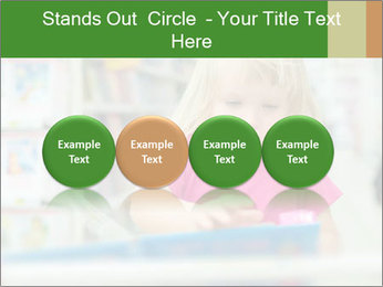 Adorable girl PowerPoint Template - Slide 76