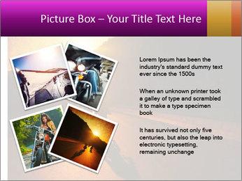 Motorcycle ride PowerPoint Template - Slide 23