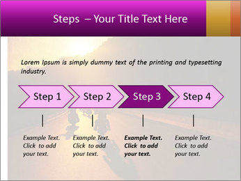 Motorcycle ride PowerPoint Template - Slide 4