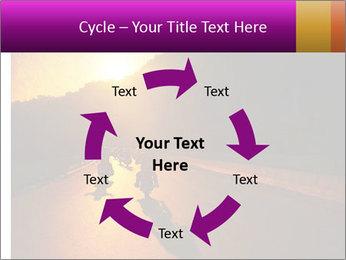 Motorcycle ride PowerPoint Template - Slide 62