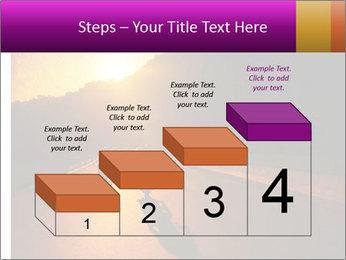 Motorcycle ride PowerPoint Template - Slide 64