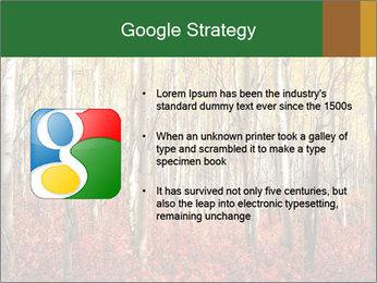 Yellow aspens PowerPoint Template - Slide 10