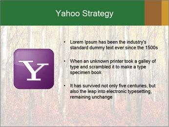 Yellow aspens PowerPoint Template - Slide 11