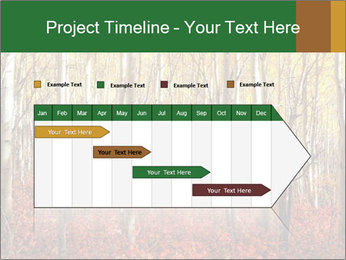Yellow aspens PowerPoint Template - Slide 25