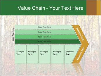 Yellow aspens PowerPoint Template - Slide 27