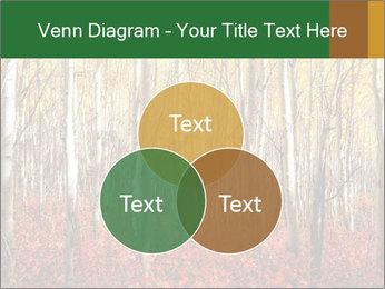 Yellow aspens PowerPoint Template - Slide 33