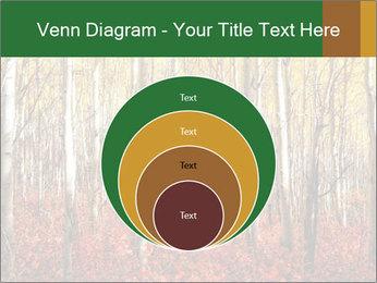 Yellow aspens PowerPoint Template - Slide 34