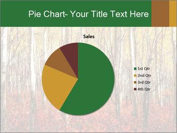 Yellow aspens PowerPoint Template - Slide 36