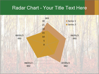 Yellow aspens PowerPoint Template - Slide 51