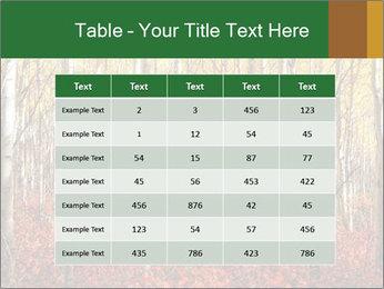 Yellow aspens PowerPoint Template - Slide 55