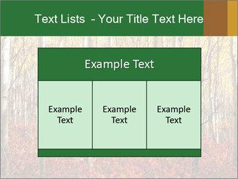 Yellow aspens PowerPoint Template - Slide 59
