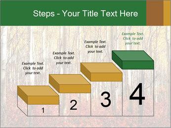 Yellow aspens PowerPoint Template - Slide 64