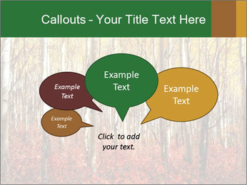 Yellow aspens PowerPoint Template - Slide 73