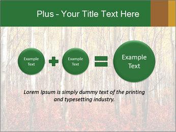 Yellow aspens PowerPoint Template - Slide 75