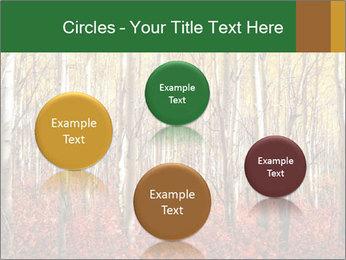Yellow aspens PowerPoint Template - Slide 77