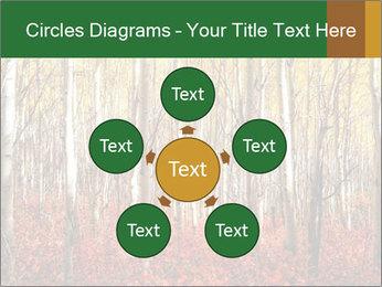 Yellow aspens PowerPoint Template - Slide 78