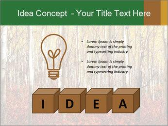 Yellow aspens PowerPoint Template - Slide 80