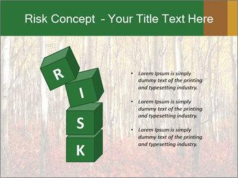 Yellow aspens PowerPoint Template - Slide 81