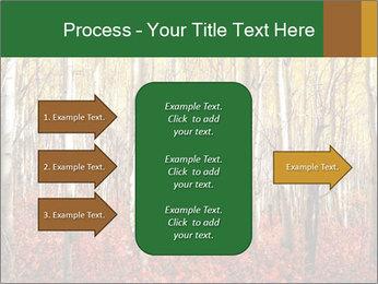 Yellow aspens PowerPoint Template - Slide 85