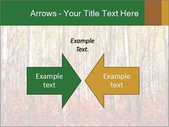 Yellow aspens PowerPoint Template - Slide 90