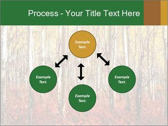 Yellow aspens PowerPoint Template - Slide 91