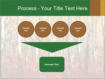Yellow aspens PowerPoint Template - Slide 93