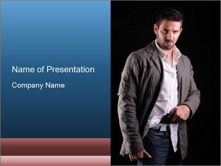 Gangster PowerPoint Template
