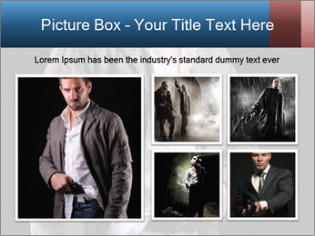 Gangster PowerPoint Template - Slide 19