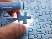 The last piece of puzzle PowerPoint Template