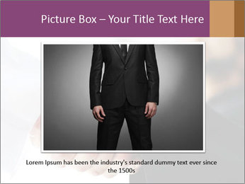 Business people over a deal PowerPoint Template - Slide 15